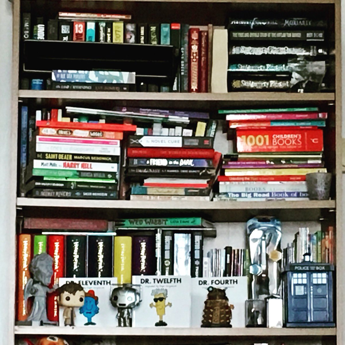 Part of summer will be spent rearranging home bookshelves but will have to read and give away some first  #iamalibrarian #shelfie<br>http://pic.twitter.com/Yp3tgDtrKA