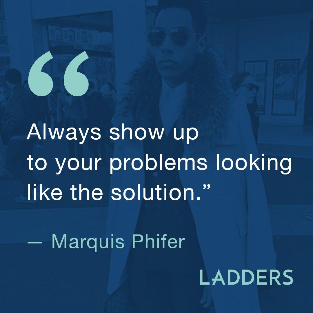 Be the solution. #MondayMotivation