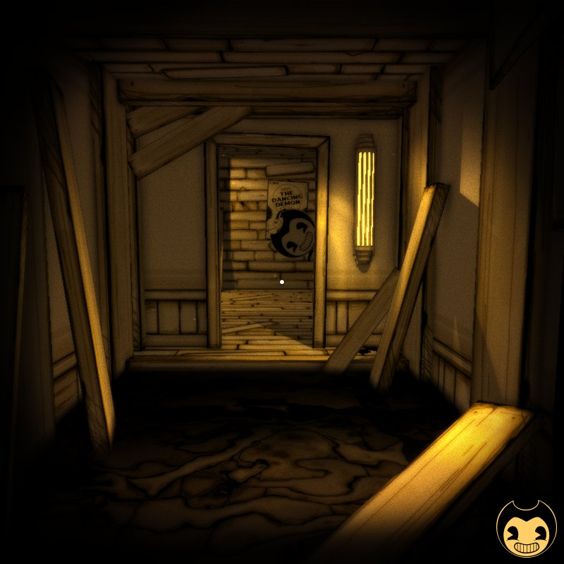 When #monday and maybe some other things are peeking just around the corner, what is just beyond the door? #BATIM #Bendy_and_the_ink_machine<br>http://pic.twitter.com/yg8Dc4Wnyf