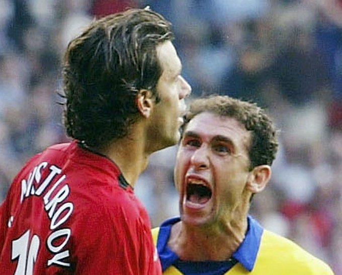 Happy 51st birthday to Arsenal hardman and Ruud van Nistelrooy\s biggest fan Martin Keown