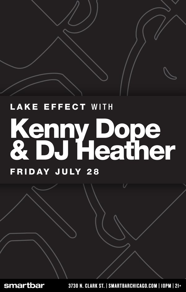 #MM #ThisFriday #July28th #LakeEffect with #KennyDope @Kdope50 @Bearwho and myself at @SmartBar #Chicago https://t.co/6GNjVuftei