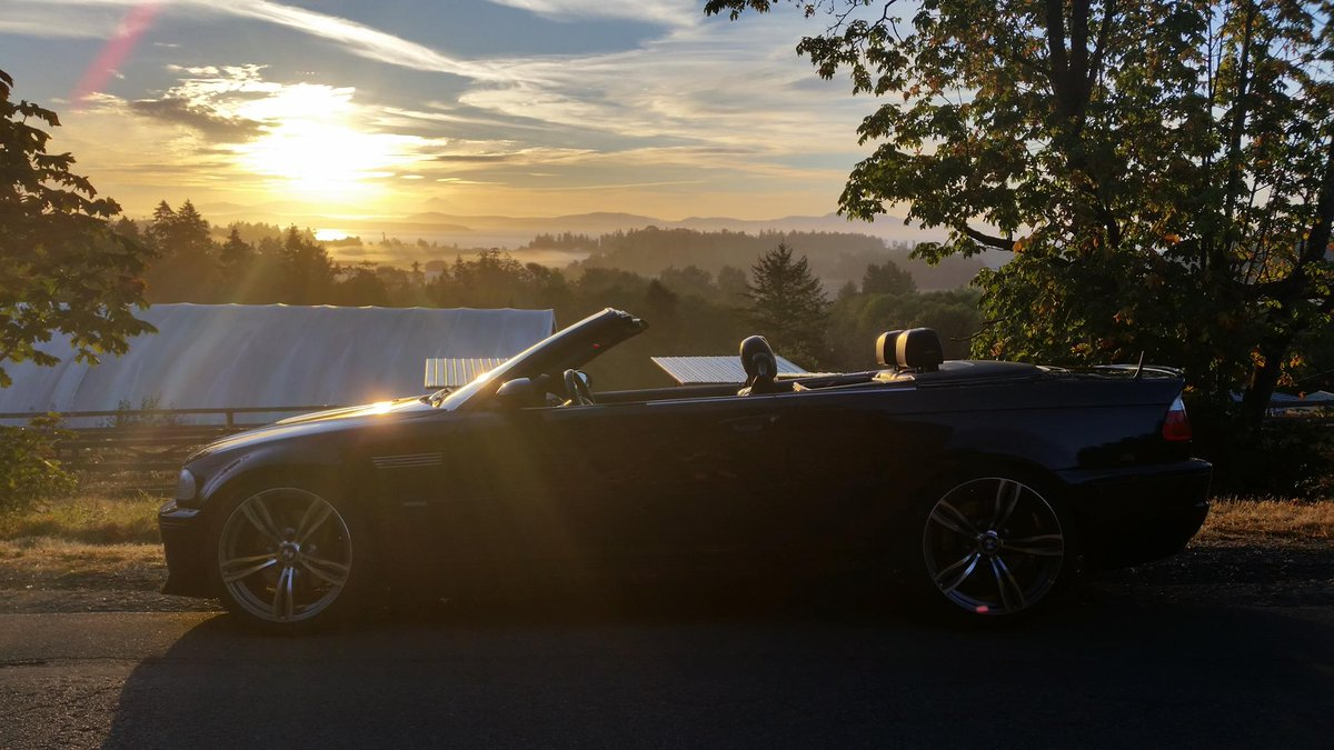 Top down and soaking up every second of sun. #FanPhoto by Rainer W.