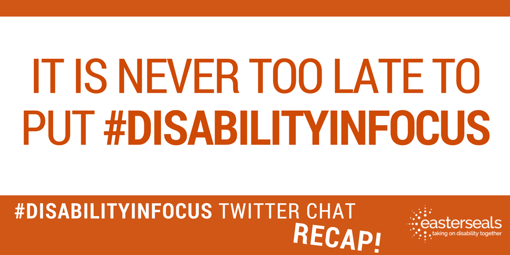 We had a fantastic chat about #disability, unity, &amp; #disabilitypride last week. Thanks to all who joined us! Recap:  http:// bit.ly/2vT7xFj  &nbsp;  <br>http://pic.twitter.com/zlq5d73c4Y