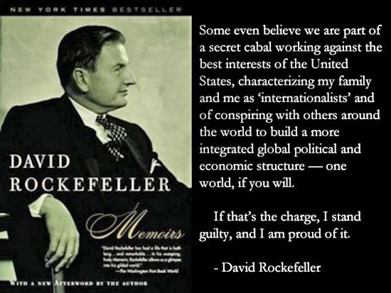 Secret Cabal Working Against The United States?NWO? By David Rockefell...