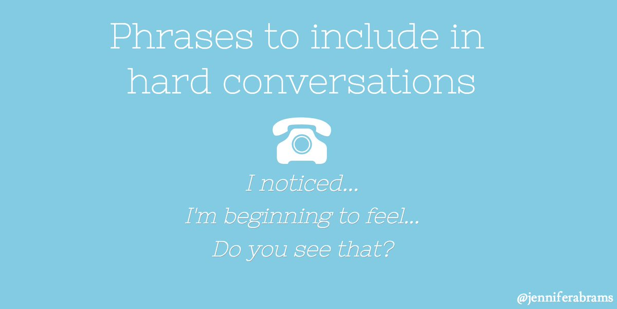 Raise your hand if you&#39;ve ever used these 3 sentences in hard conversations:  http:// bit.ly/2gO1PBG  &nbsp;   #Communication #Education #CareerAdvice<br>http://pic.twitter.com/QD4PUD4ipB
