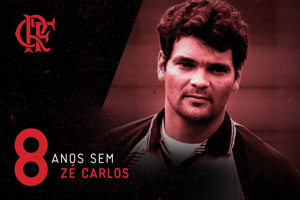 24/07/2009 - Oito anos sem Zé Carlos. Campeão brasileiro em 87, da Copa do Brasil em 90 e tri carioca. Jogou 354 vezes pelo Flamengo.