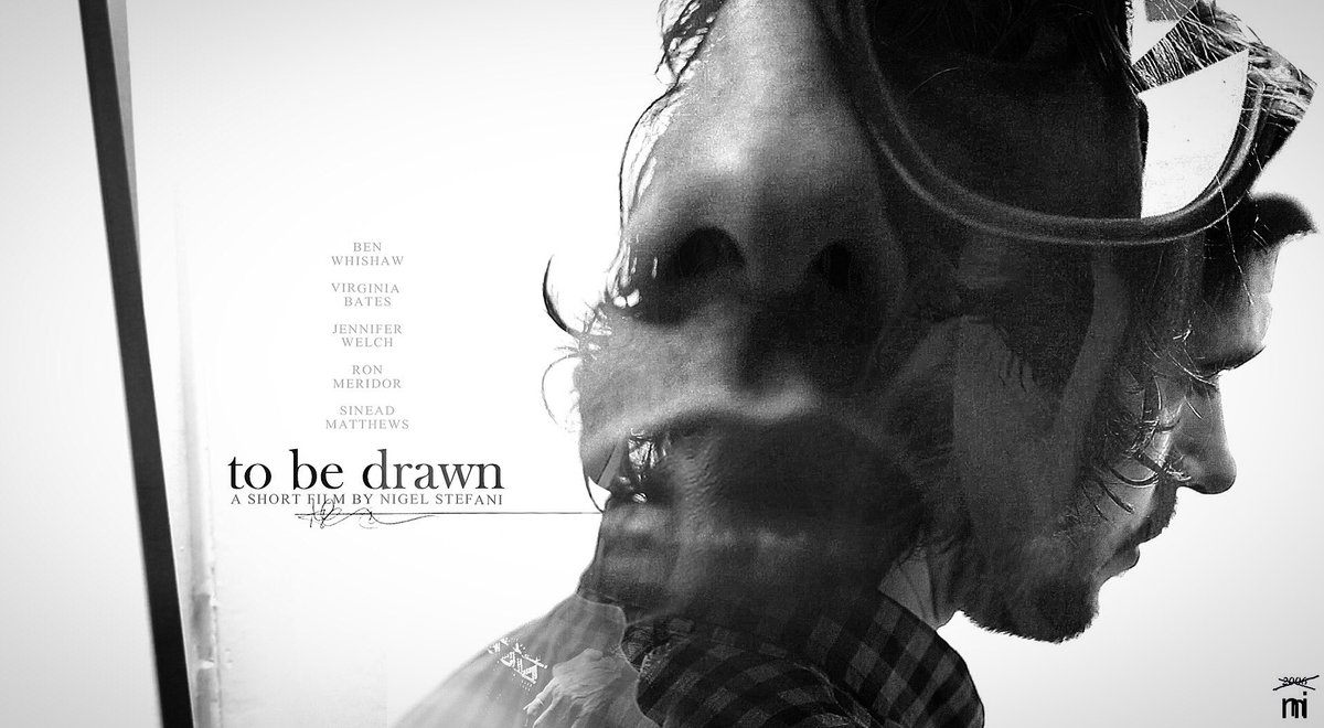 Film poster for my short &#39;to be drawn&#39; can you see all the subjects? #nigelstefani #artist #benwhishaw #london  https:// youtu.be/KkVanp5z1oM  &nbsp;  <br>http://pic.twitter.com/cqYUqdPS9B