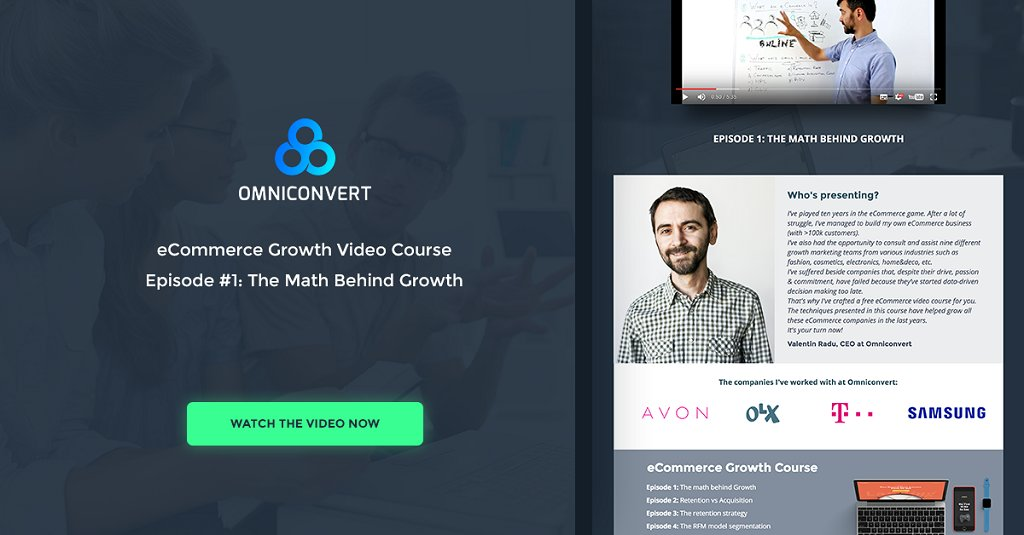 The #eCommerce Growth Course: The math behind #growth  http:// bit.ly/2tPo6nc  &nbsp;   [Video] via @omniconv<br>http://pic.twitter.com/J3e3jGXnk1