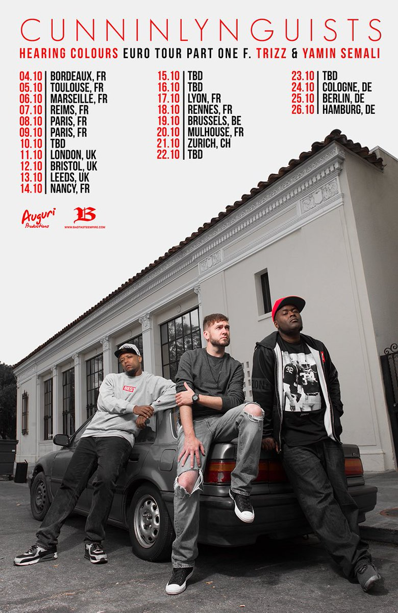 Cunninlynguists Europe Tour
