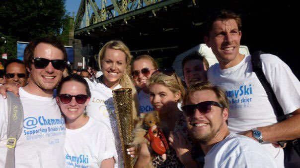 What an experience this was 5 years ago today carrying the Olympic torch before the epic London games... #timeflies