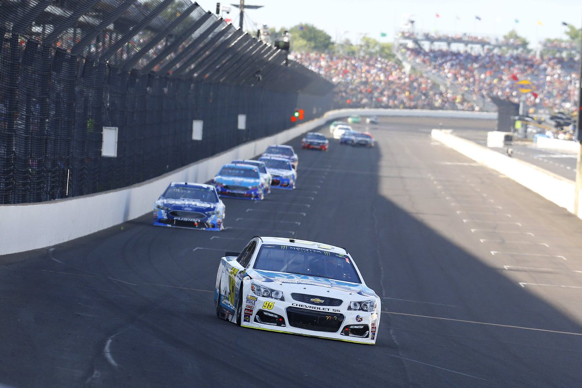 So close to another incredible finish for our team. Everyone kept fighting and never gave up. #Relentless #NASCAR #Brickyard400<br>http://pic.twitter.com/W6atqvosz9