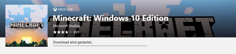 minecraft windows 10 edition download free
