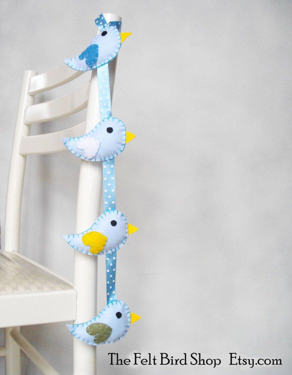 Baby Mobile with Blue Birds, in my shop:   http:// etsy.me/2rX28vf  &nbsp;   via @Etsy #CreativeBizHour #BabyShower #ShoppersHour<br>http://pic.twitter.com/JCQyIqMHjv