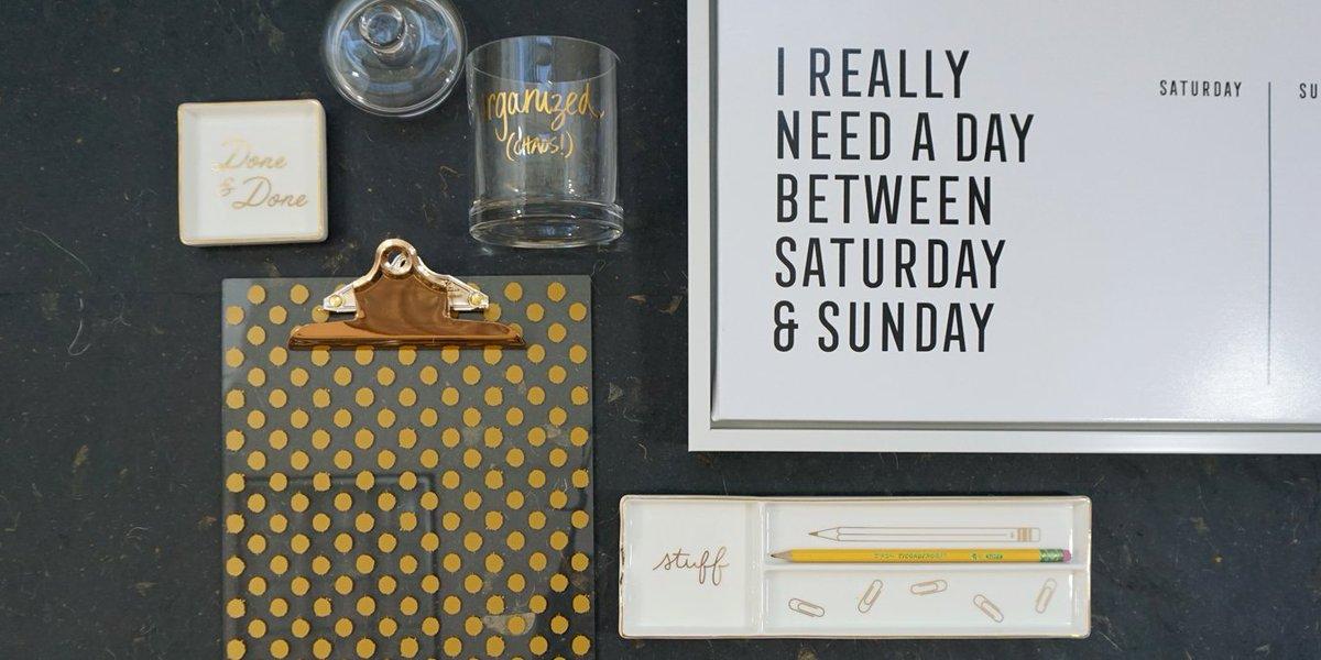 Getting organized. #MondayMotivation htt...