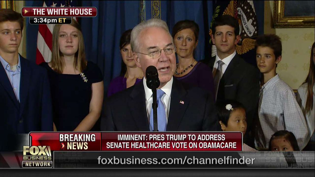 .@SecPriceMD: 'We are committed to ensuring that the American people enjoy a health care system that works for them.'