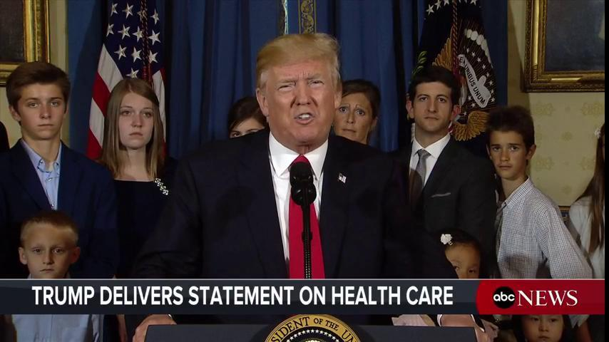 Pres. Trump: DC politicians 'want to forget about the countless Americans they've hurt...by refusing to help us replace Obamacare.'