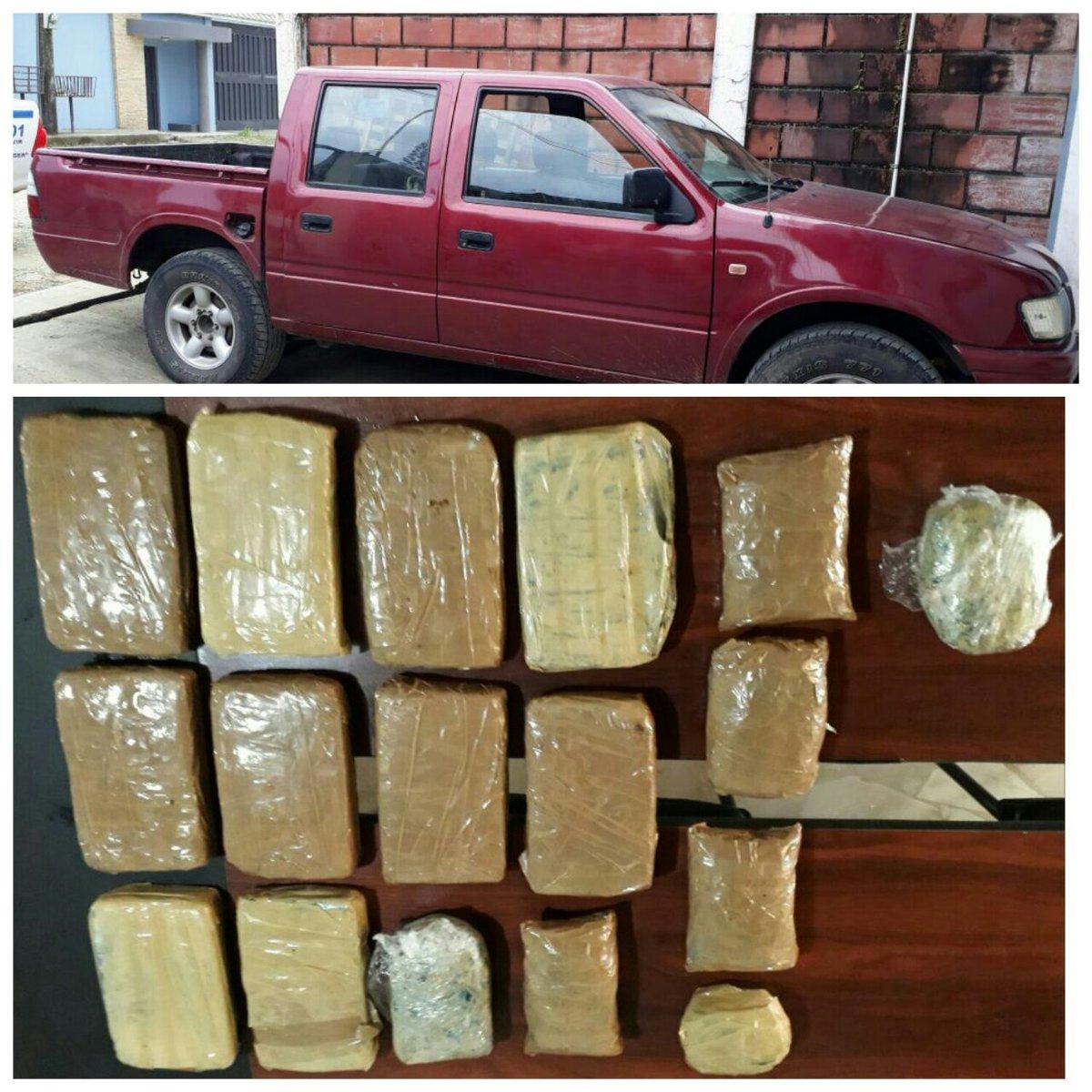"lavozpopuli on Twitter: ""#Quevedo encuentran droga en camioneta ..."