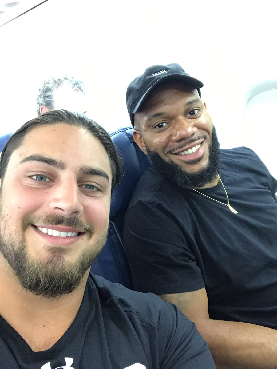 "David Bakhtiari on Twitter ""Green Bay here we e"