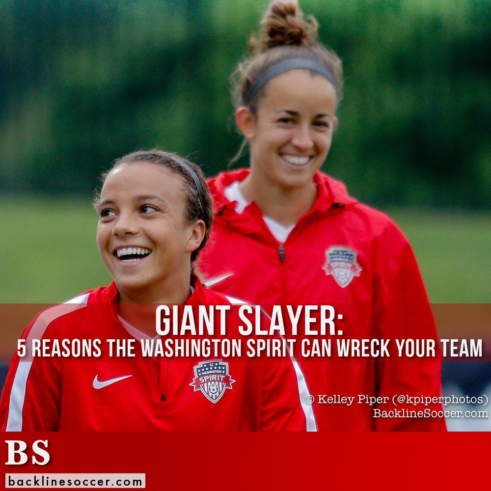 Giant Slayer: 5 Reasons the Washington Spirit Can Wreck Your Team #NWSL #USWNT  http:// wp.me/p7M3fg-2KY  &nbsp;  <br>http://pic.twitter.com/UnfxUnr8Ex