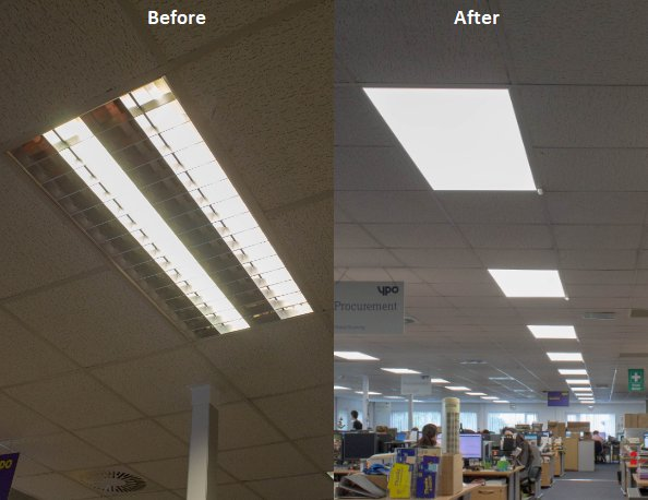 We practice what we preach! Our new #lighting which saves us 78%. Use our framework to make savings for your #school  http:// bit.ly/2uP9eXf  &nbsp;  <br>http://pic.twitter.com/7sHKLHC5L4