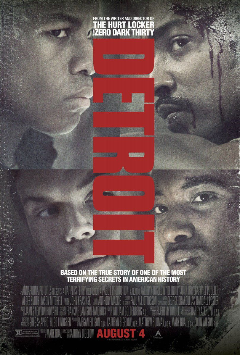 With 13 initial reviews, #DETROITmovie is currently #Fresh at 100% on...