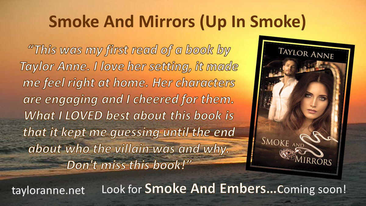 Will he protect her or does he have something else in mind?   Smoke And Mirrors @tayloranne1234 #romance #suspense  https:// goo.gl/87eSM6  &nbsp;  <br>http://pic.twitter.com/elb5pQFRvi