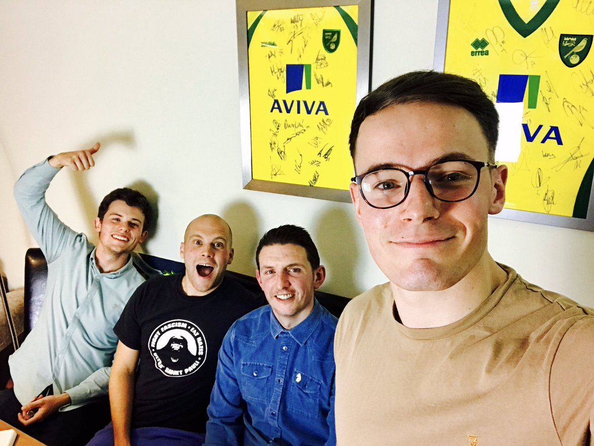 Tomorrow at 18:00 | New TNC podcast feat. The @AlongComeNodge boys @Andrew_Lawn &amp; @puntino talking all things #NCFC &amp; atmosphere!  <br>http://pic.twitter.com/Ow7Gi4tzvM