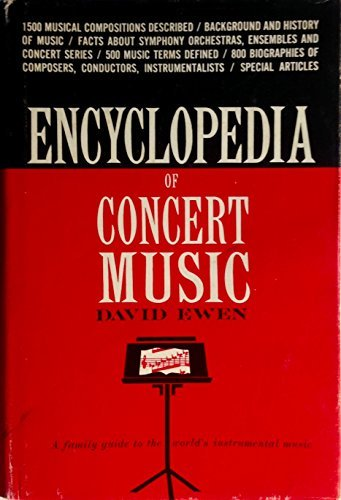 #ENCYCLOPEDIA OF #CONCERT #MUSIC   http:// amzn.to/2eIQh1W  &nbsp;    THE iconic #musical #reference!  #symphony #orchestra #opera #musician On #SALE!<br>http://pic.twitter.com/4SpqWqWYAd