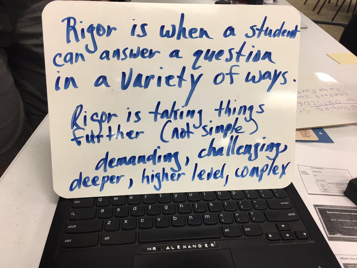 #School is about to start and today teachers were reminded about #rigor in a day of professional development. #teacherlife #TeacherFriends<br>http://pic.twitter.com/59g6u6Hgah