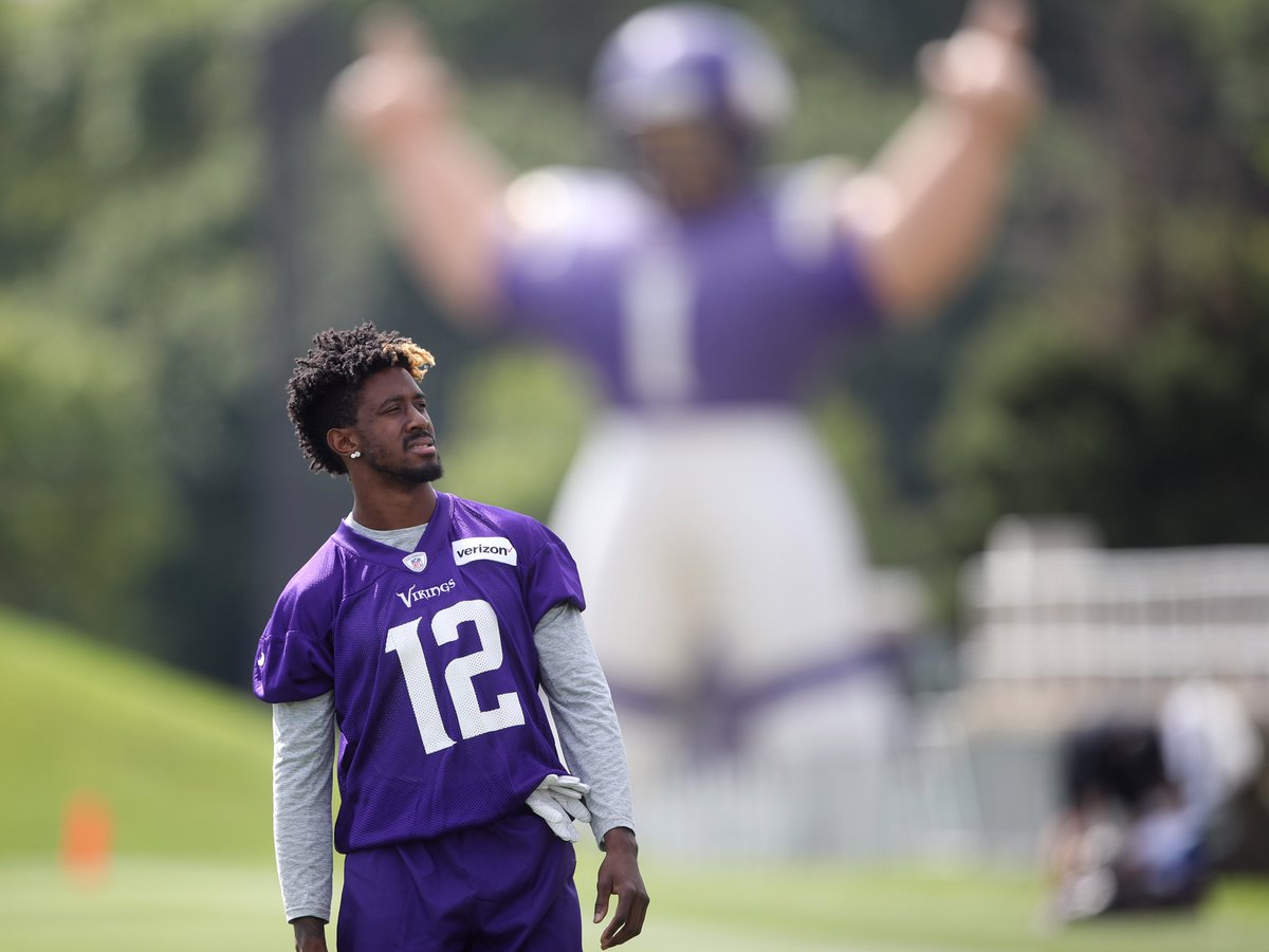 #Vikings rookie Rodney Adams has big shoes to fill on special teams, @Andrew_Krammer writes  http:// strib.mn/2tUZTsn  &nbsp;  <br>http://pic.twitter.com/zUQE3yGLCu