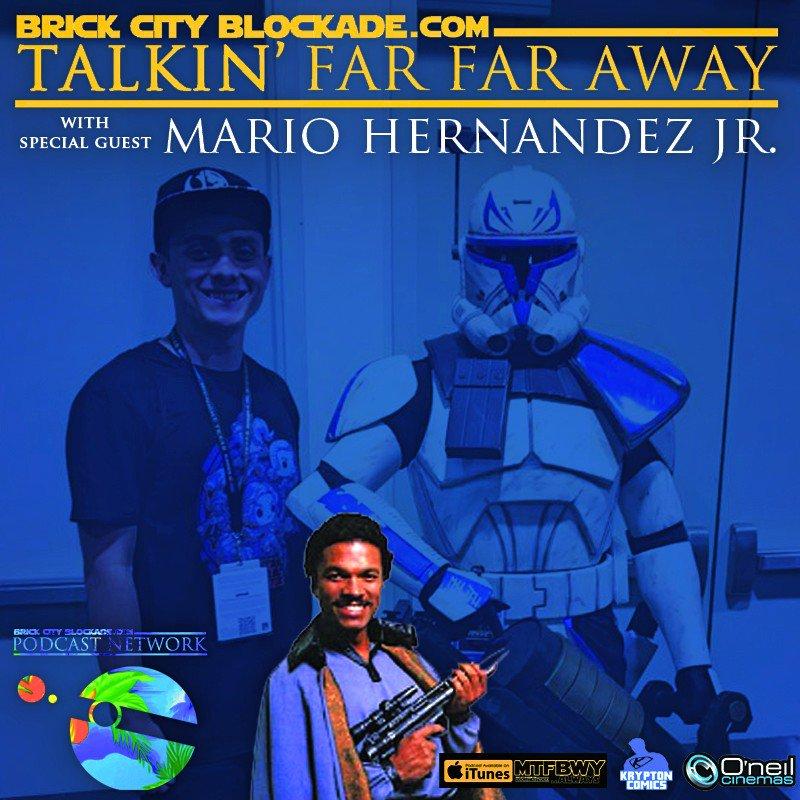 Talkin&#39; Far Far Away with Mario Hernandez Jr. by Brick City Blockade Star Wars Podcast Network #np on #SoundCloud   https:// soundcloud.com/brickcityblock adeswpc/talkin-far-far-away-with-mario &nbsp; … <br>http://pic.twitter.com/rfIChWBeOO