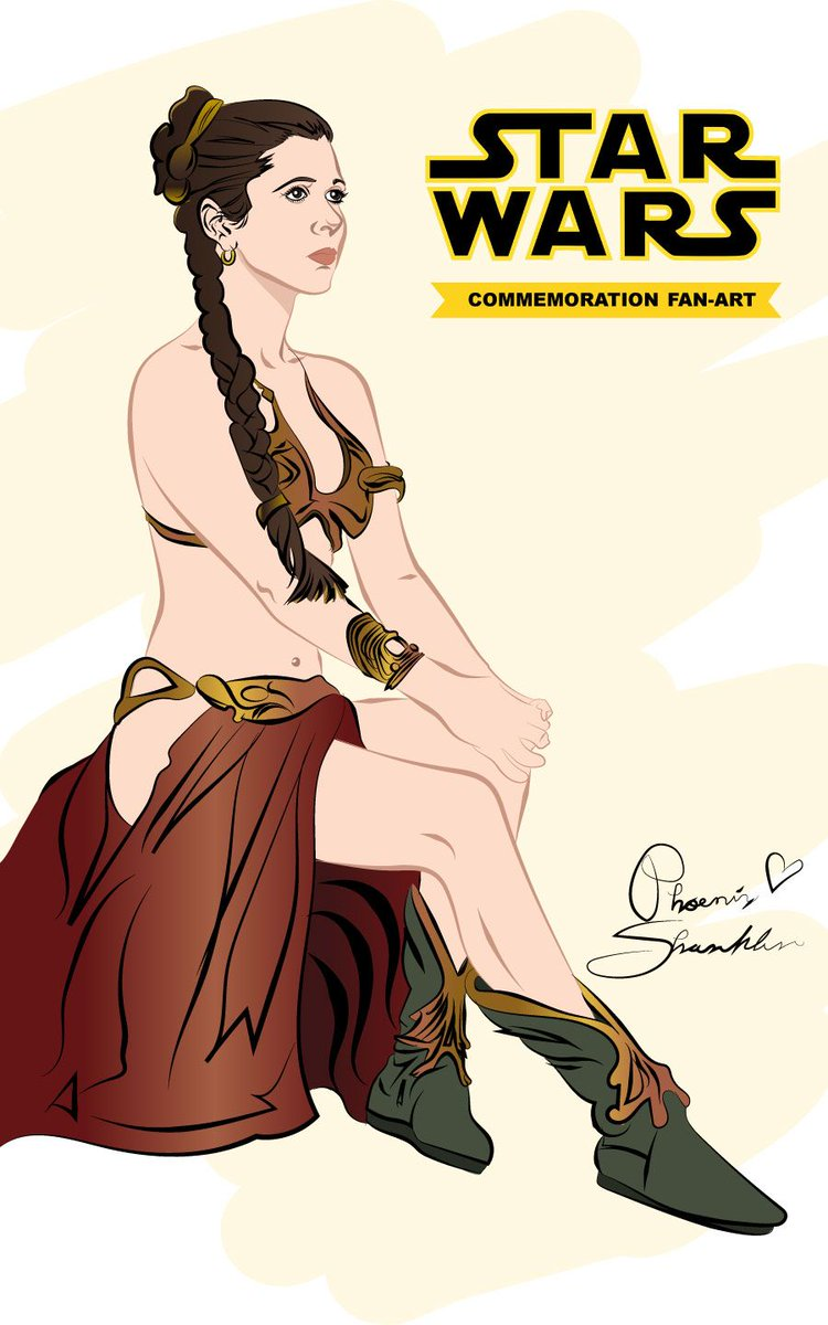 ICYMI: Here&#39;s a #PrincessLeia/ @carrieffisher Commemoration fan-art I&#39;ve did.  http:// bit.ly/2uuMPMd  &nbsp;  <br>http://pic.twitter.com/HmDT91XbQs