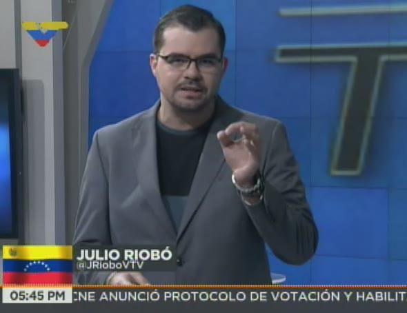 #EnPantallaVTV   EN TRES Y DOS. Con Julio Riobó @JRioboVTV. AHORA