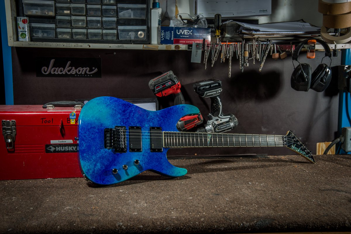 Easy to get lost at sea with this Jackson Custom Shop Dinky in Coral Sea! #jackson #custom  http://www. jacksonguitars.com/customshop/  &nbsp;  <br>http://pic.twitter.com/uUMS9fg15U