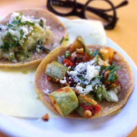 Vegetarian? Vegan? There's a taco for that.   Indulge in your #Meatles...