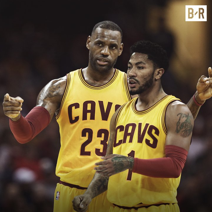 Breaking: Derrick Rose has committed to sign with the Cleveland Cavali...