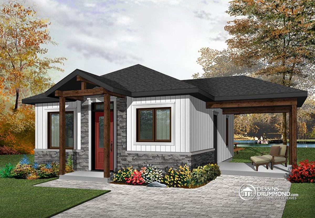 Meilleur plan de maison moderne for Meilleur constructeur maison