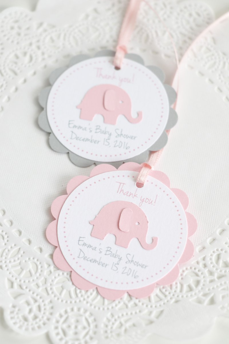 Pink and Gray Thank You Tags :)  https://www. etsy.com/listing/476876 657/pink-elephant-tags-thank-you-tagsbaby?ref=shop_home_feat_1 &nbsp; …  #babyshower #thankyou #craftbuzz<br>http://pic.twitter.com/lSKFnU5ezn