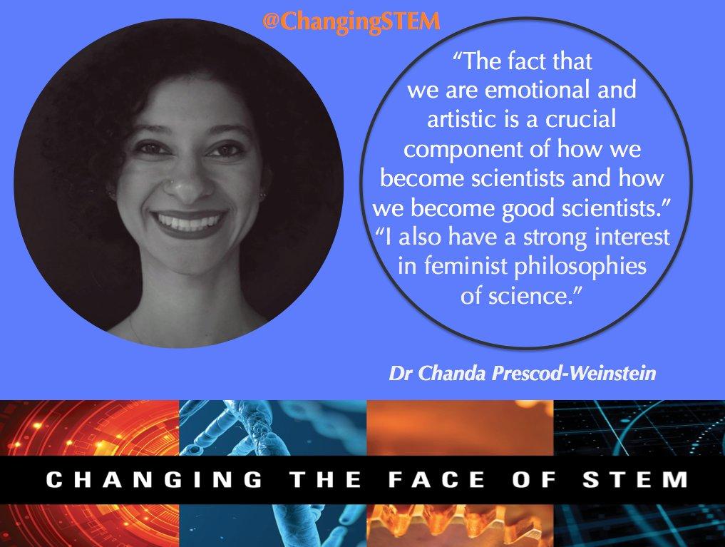 #MondayMotivation #Physicist Dr Chanda Prescod-Weinstein @IBJIYONGI travels the world to speak about science &amp; society #BlackandSTEM #STEM<br>http://pic.twitter.com/bamBPEhAXq