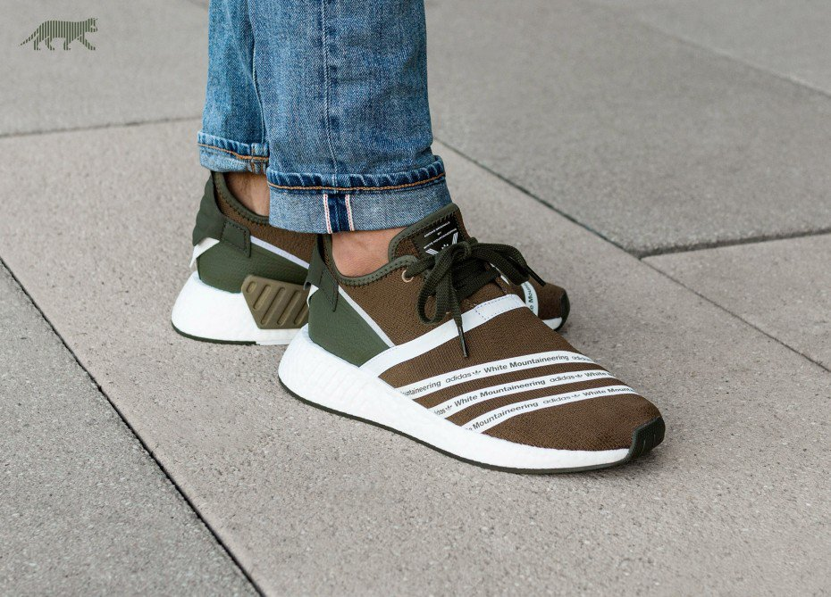 aab0c2bb8 The adidas x White Mountaineering NMD R2 in