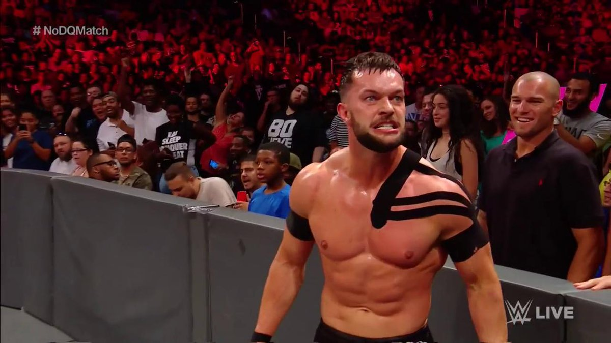 The first-ever #UniversalChampion @FinnBalor is a man POSSESSED tonigh...