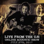 THIS THURSDAY! Join Chris & Matt on July 27th for an Online Acoustic Show, live from the U.S!  Tickets & Info: https://t.co/McVJr0DBOt