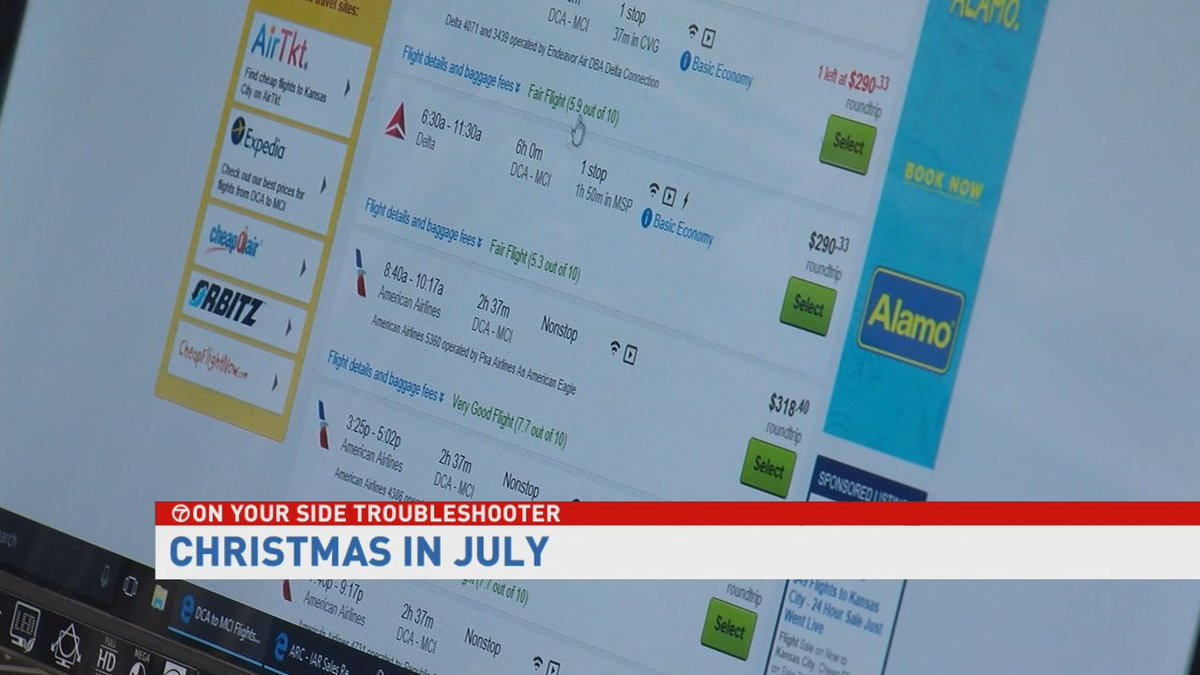 Christmas in July: 7 On Your Side's holiday travel guide: https://t.co...