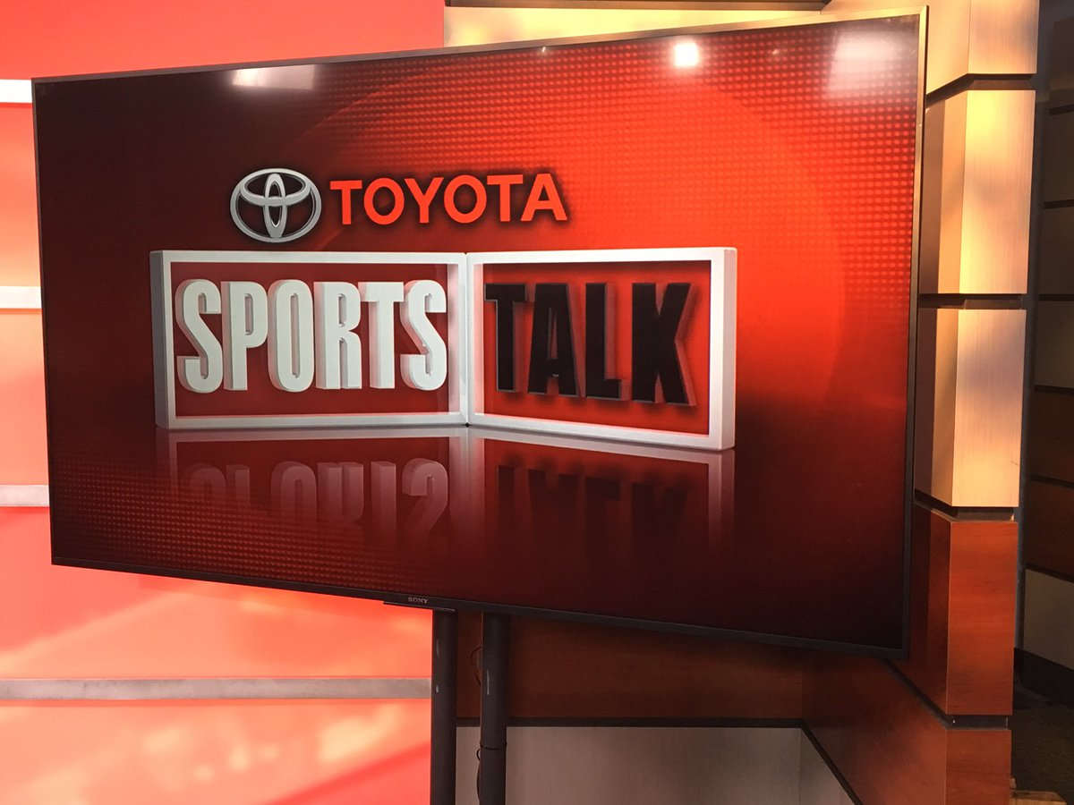 Joining my friend @ABC7Erin on Toyota SportsTalk. @NewsChannel8 at 9pm...