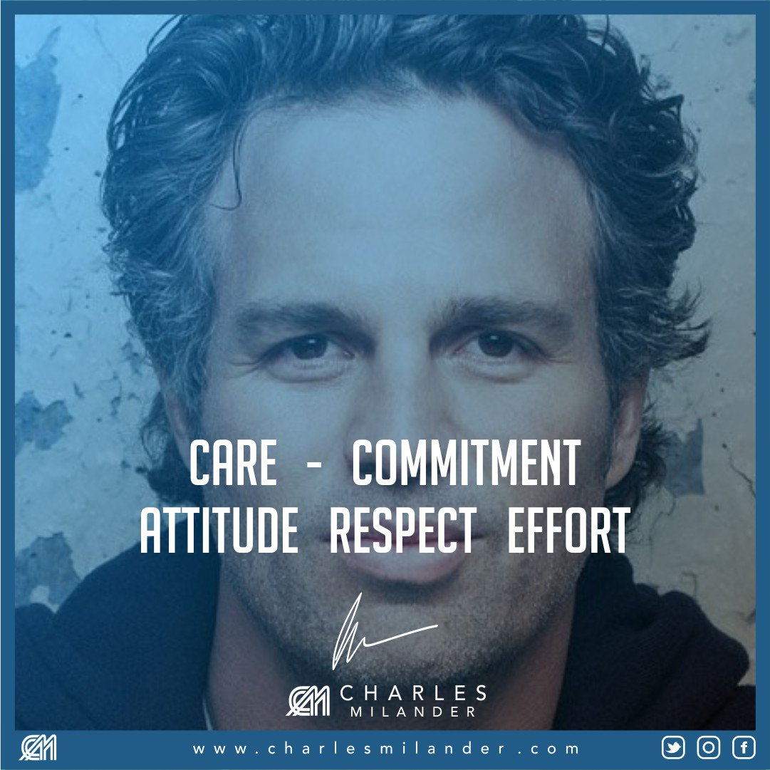 CARE - Commitment Attitude Respect Effort. #successful #passion #inspiredaily #hardwork #motivation #entrepreneur #business #nyc<br>http://pic.twitter.com/0gNkfrq6PA