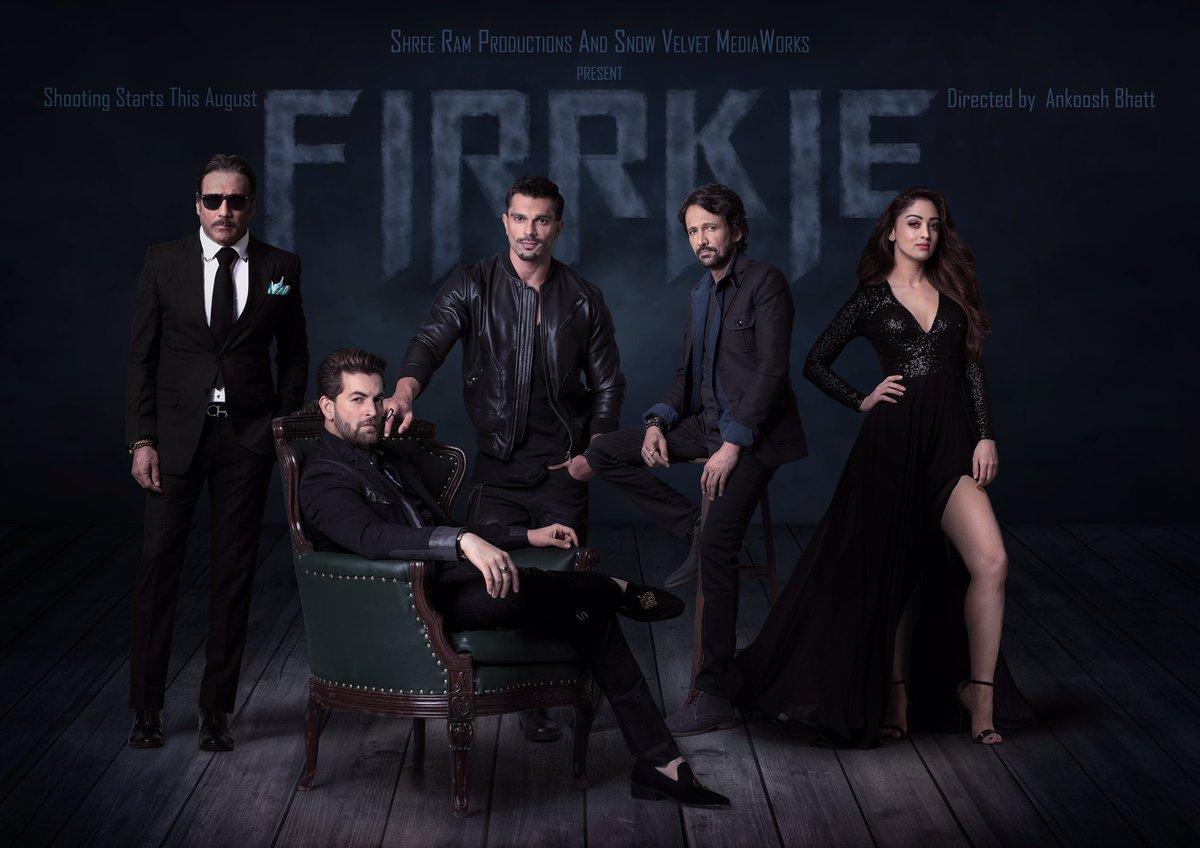 First look poster of Firrkie starring Neil Nitin Mukesh, Karan Singh Grover, Jackie Shroff, Kay Kay Menon