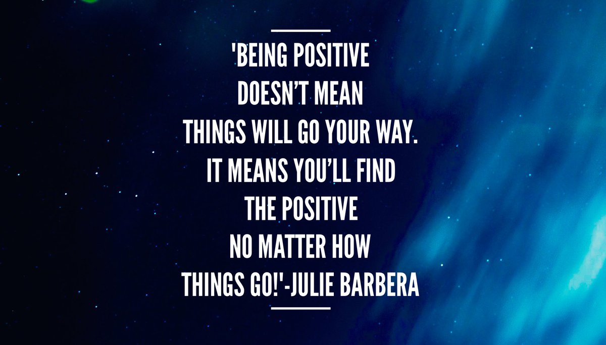 &#39;Being #positive doesn&#39;t mean things will go your way. It means you&#39;ll find the positive no matter how things go!&#39; #mindset #positivity<br>http://pic.twitter.com/hbdROzaOSR