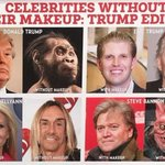 I can hardly tell any difference. #donaldtrump #erictrump #kellyanneconway #stevebannon #madmagazine