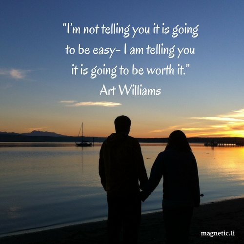 """I'm not telling you it is going to be easy- I am telling you it is going to be worth it."" - Art Williams #quotes #motivationalquotes <br>http://pic.twitter.com/G9vzAjSw3n"
