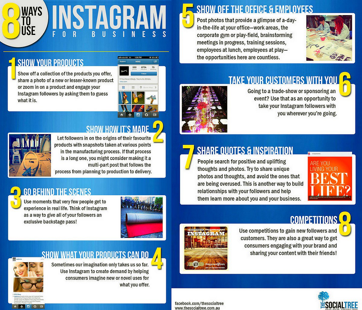 8 Ways To Use #Instagram For #Business [Infographic]  #SocialMedia #Marketing #SMM #DigitalMarketing #GrowthHacking<br>http://pic.twitter.com/vtGsb5KIKu